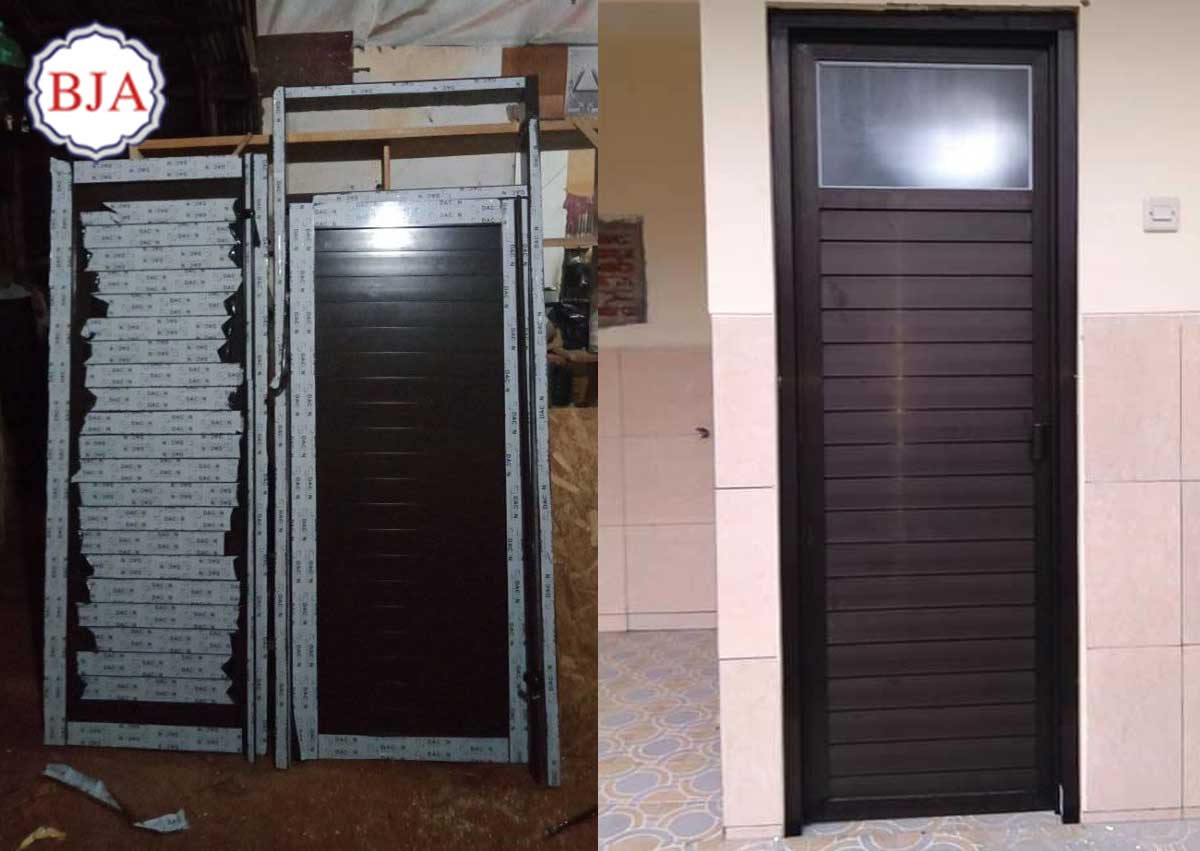 Cara Memasang Pintu Aluminium Kamar Mandi