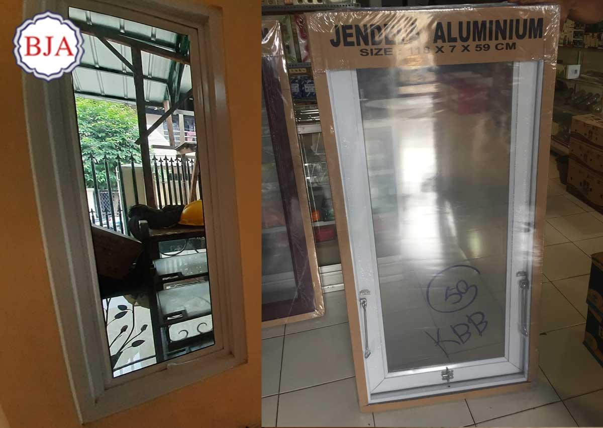 Harga Jendela Aluminium Cikarang