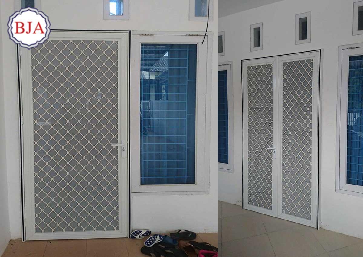 Harga Pintu Aluminium Kawat Nyamuk Baja