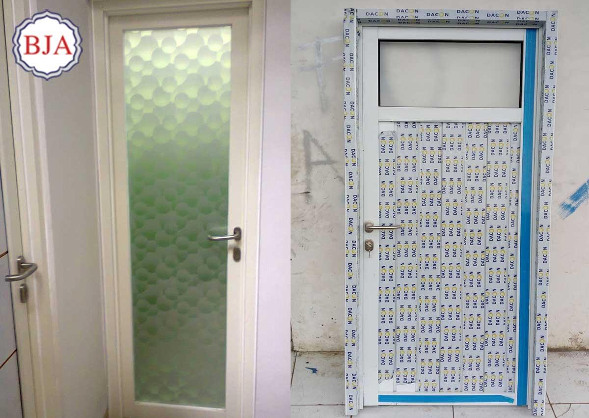 Pintu Aluminium Kamar Mandi Bandung