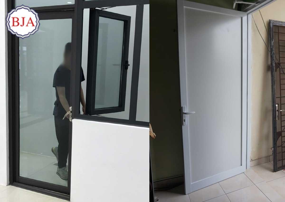 Pintu Aluminium Untuk Dapur