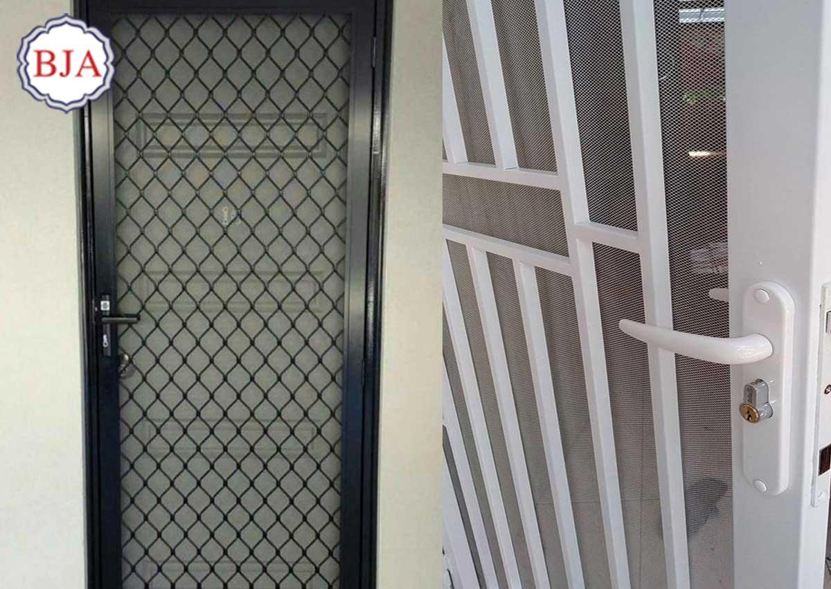 Model Pintu Aluminium Kawat Nyamuk