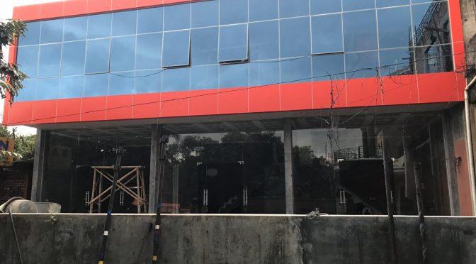 Project Kusen Jendela dan Kaca Gedung Ruko Di Bogor