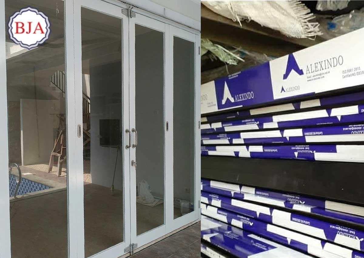 pintu aluminium alexindo